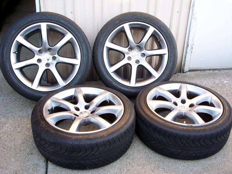 FS G60 60x60 Rims With Tires 60x6060 Bolt Pattern IndyCarz Forum Enchanting G35 Bolt Pattern